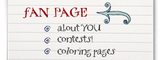 Fan page - contests, coloring pages, and MORE!